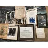 An assortment of Churchill related Ephemera