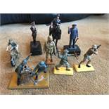 Assorted Vintage Toy Soldiers