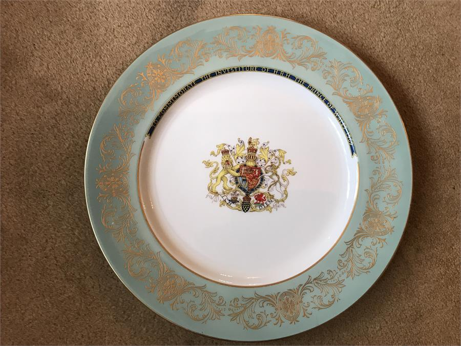 Lot 35 - 2 Aynsley to commemorate the marriage of the Prince of Whales to Lady Diana Spencer.