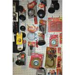 ASSORTED OIL FILTERS / WRENCHES / ETC.