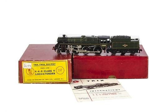 Trix Twin Railway OO Gauge 3-rail DC Tender Locomotives