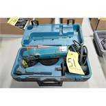 "Makita No. N9514B, 4 1/2"" Electric Hand Held Angle Grinder, with Case"