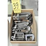 Lot-Various Small C-Clamps in (1) Box