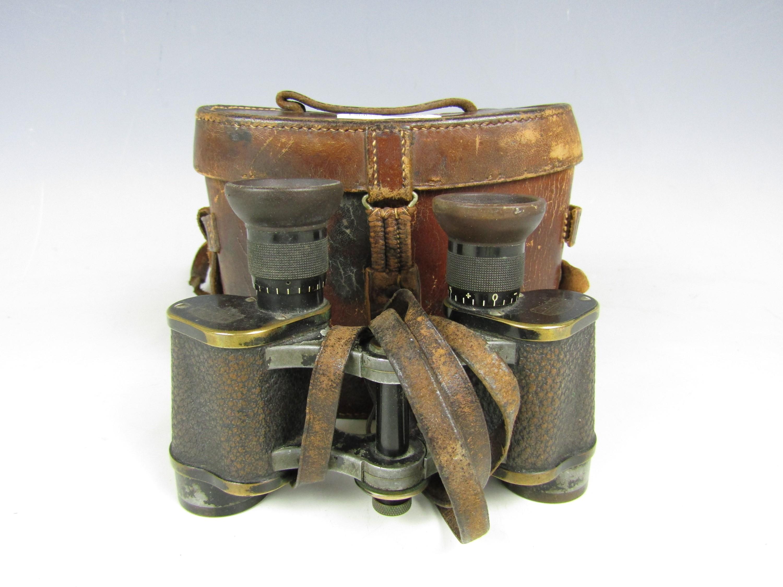 Lot 51 - A cased pair of vintage Zeiss Telex binoculars