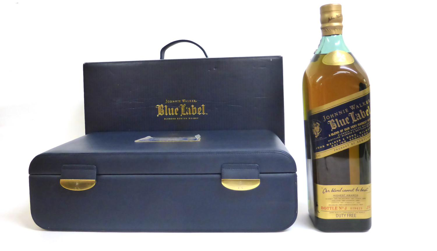 This is an image of Luscious Johnnie Walker Blue Label Case