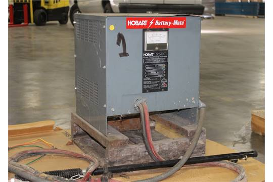 HOBART BATTERY-MATE 250CII ELECTRIC FORKLIFT BATTERY CHARGER, 24V MODEL:  510M1-12C VOLTS: 208 | Hobart Battery Charger Wiring Diagram |  | Bidspotter.com