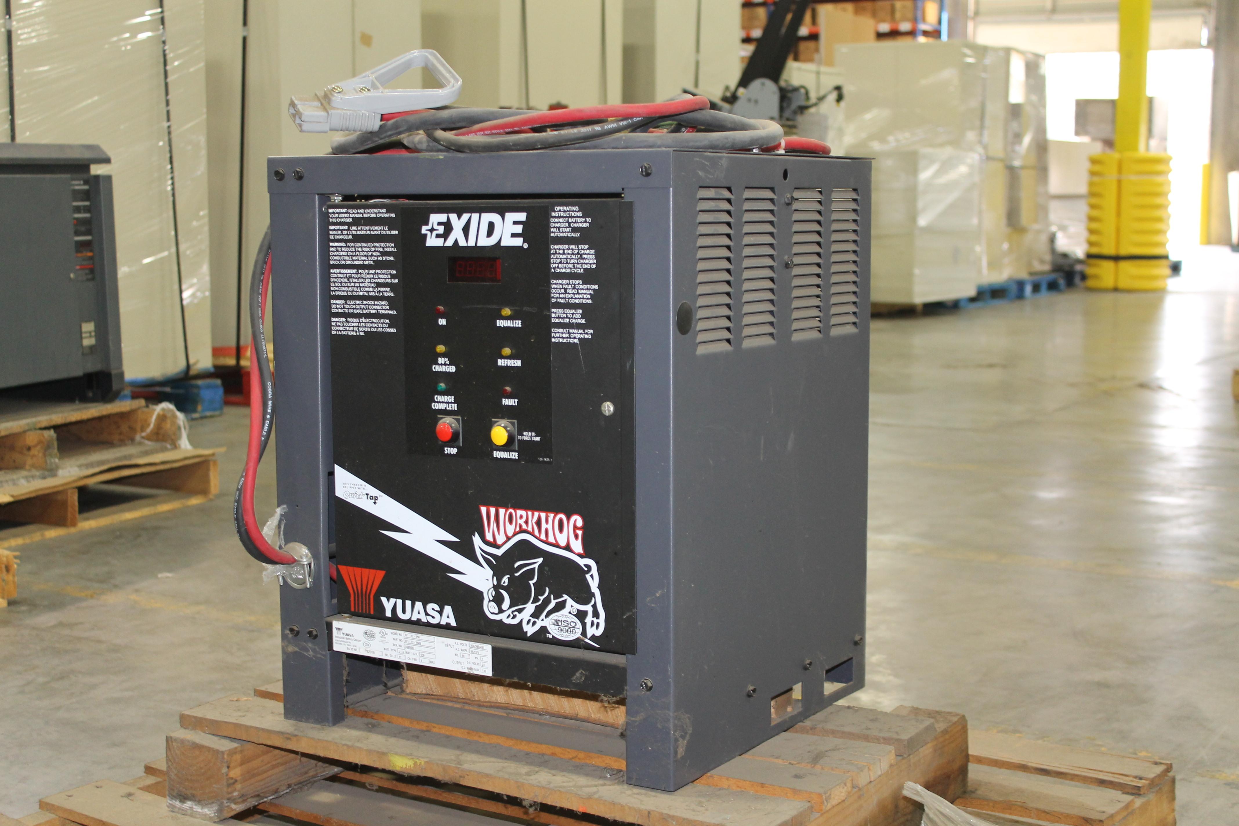Lot 69 - EXIDE WORKHOG ELECTRIC FORKLIFT BATTERY CHARGER, 24V