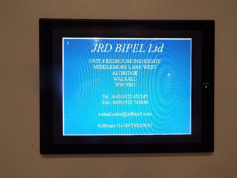 Lot 2 - JRD Bipel 150 Tonne Hydraulic Hot Compression Press.