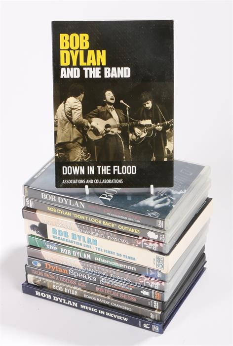 Lot 55 - 11 x Bob Dylan DVDs to include Early Performances 63-64. Don't Look Back Outtakes. Down In The