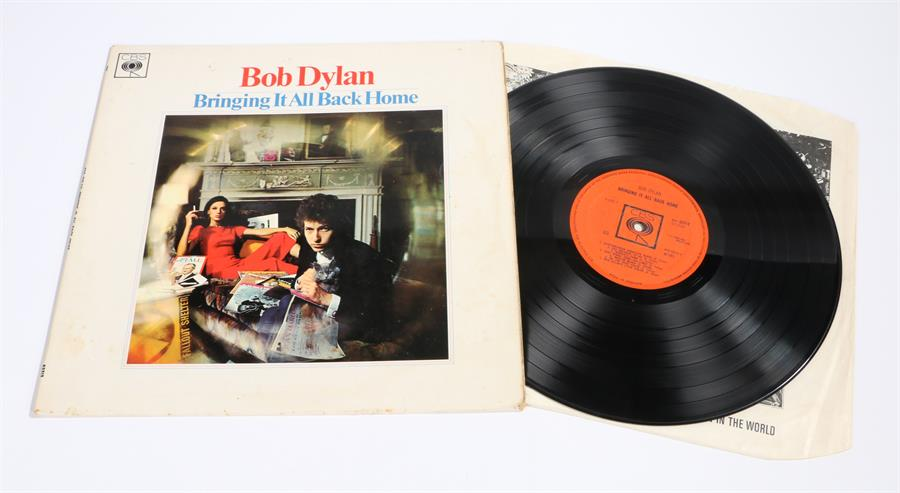 Lot 25 - Bob Dylan - Bringing It All Back Home LP, CBS BPG 62515 1A-1 / 2B-1