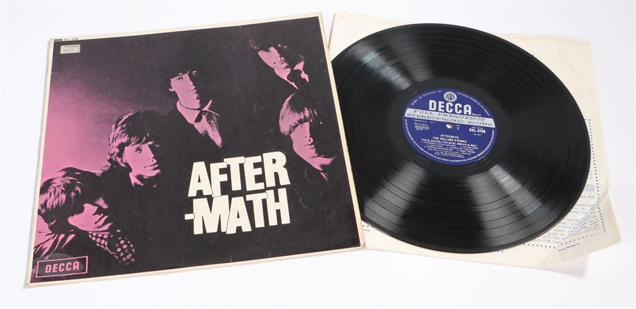 Lot 49 - The Rolling Stones - Aftermath LP, Decca SKL 4786 stereo XZAL-7209/10 1W