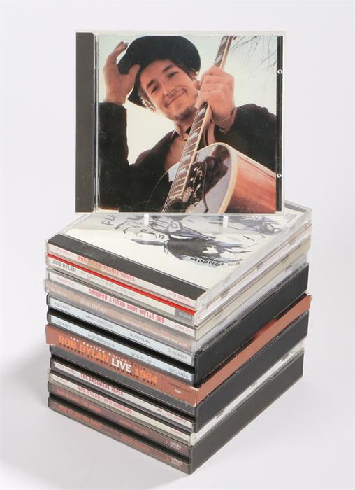 Lot 27 - 10 x Bob Dylan CDs - John Wesley Harding, Planet Waves, Pat Garret & Billy The Kid, Before The
