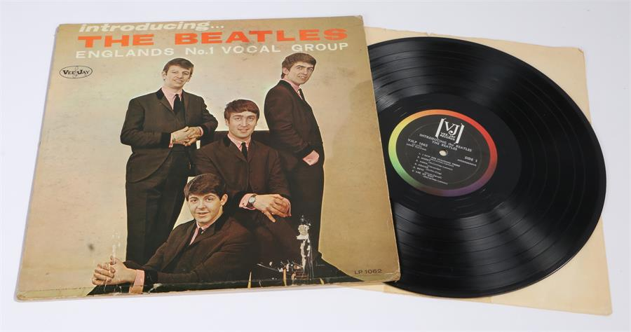 Lot 16 - The Beatles - Introducing..The No.1 Vocal Group LP, Vee Jay VJLP 1062.
