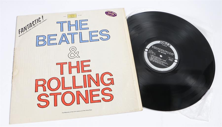 Lot 58 - The Beatles And The Rolling Stones - At Their Rarest. Joker, Italian.