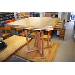 *PINE SQUARE TOP TABLE