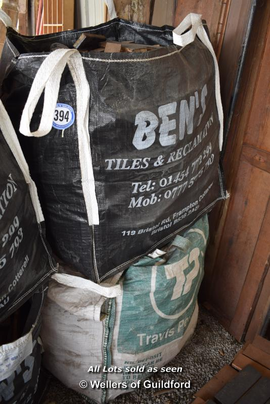Lot 394 - *TWO BAGS OF MIXED PARQUET FLOORING (NEEDS PREPARATION)