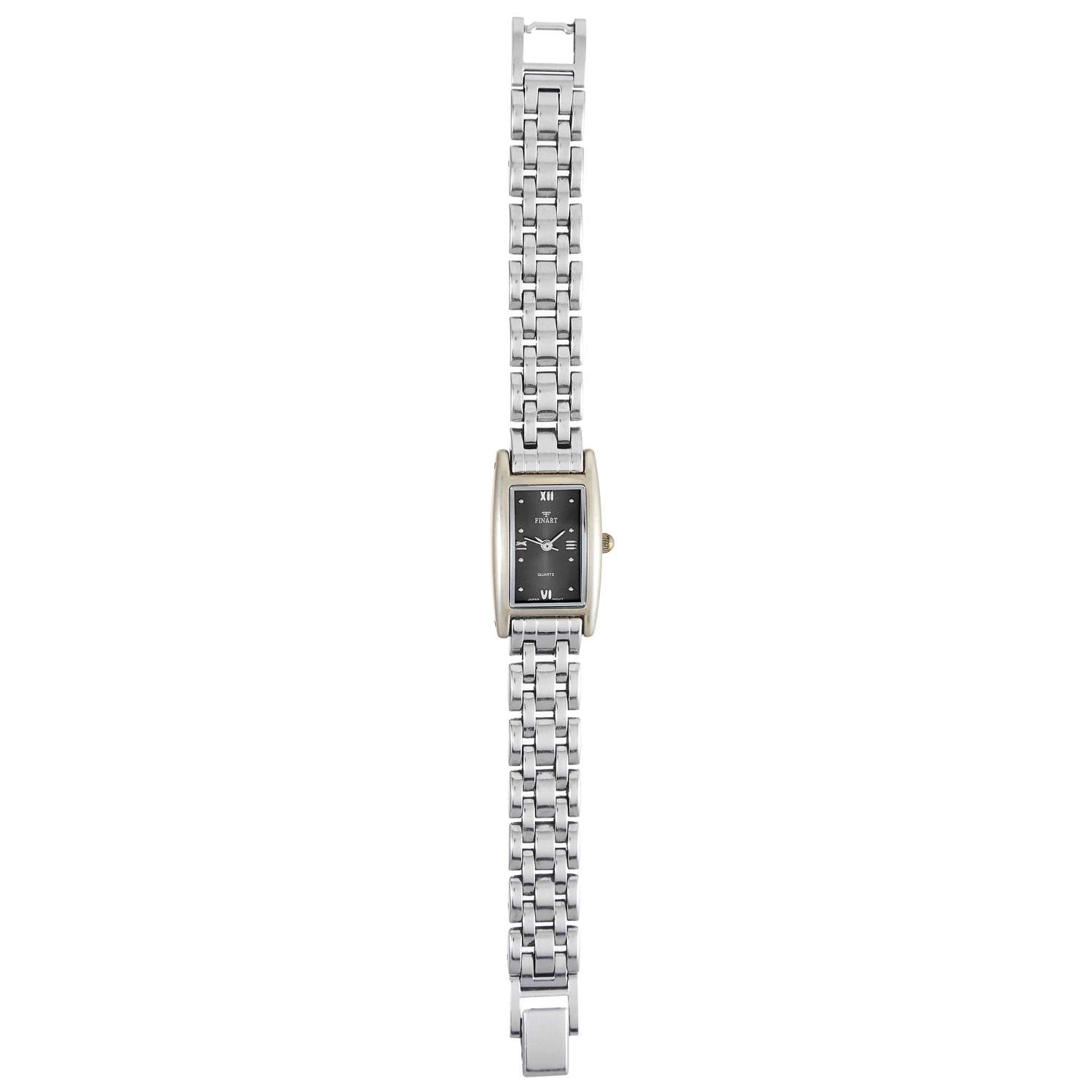 Los 421 - A LADIES WRISTWATCH, FINART in stainless steel, 17cm, 37.5g.