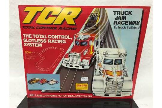 Two TCR (Total Control Racing) sets : Indy Jam Circuit and Truck Jam