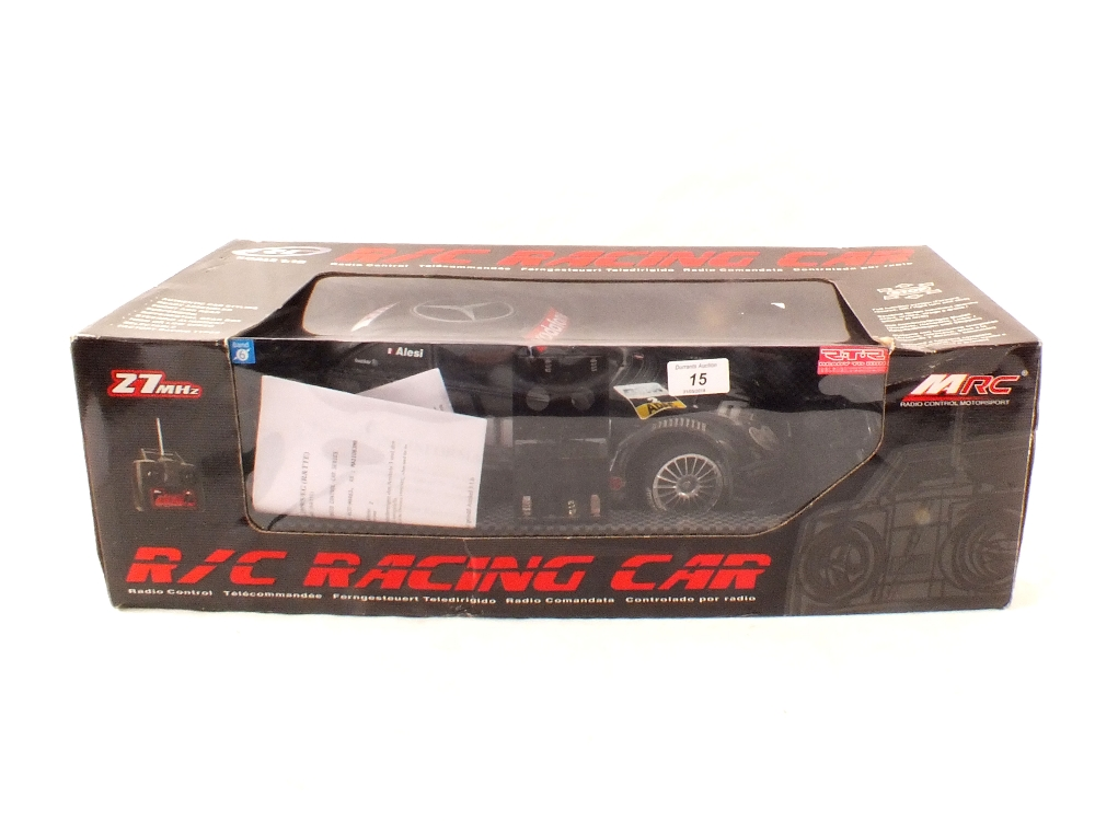 Lot 15 - A boxed MRC radio controlled AMG Mercedes CLK DTM 2002