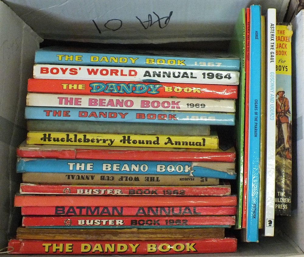Lot 27 - Childrens annuals to include Monster Rupert, Rupert picture book, Eagle No's 2,