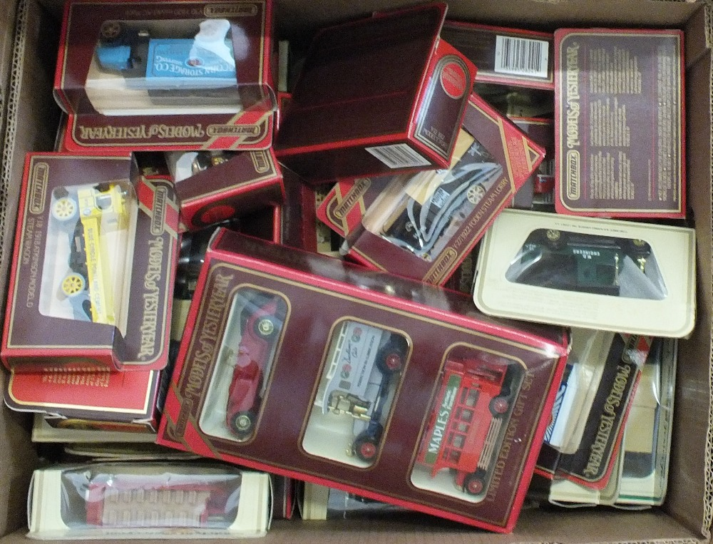 Lot 54 - A quantity of boxed Matchbox Models of Yesteryear