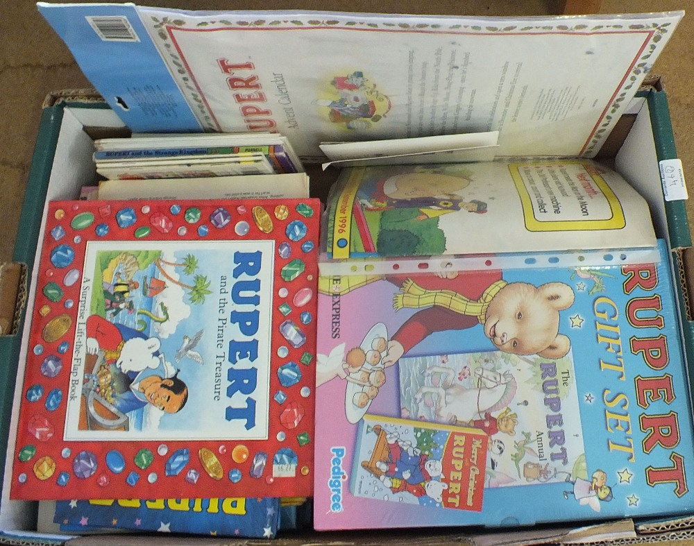 Lot 46 - Various Rupert items including gift sets,