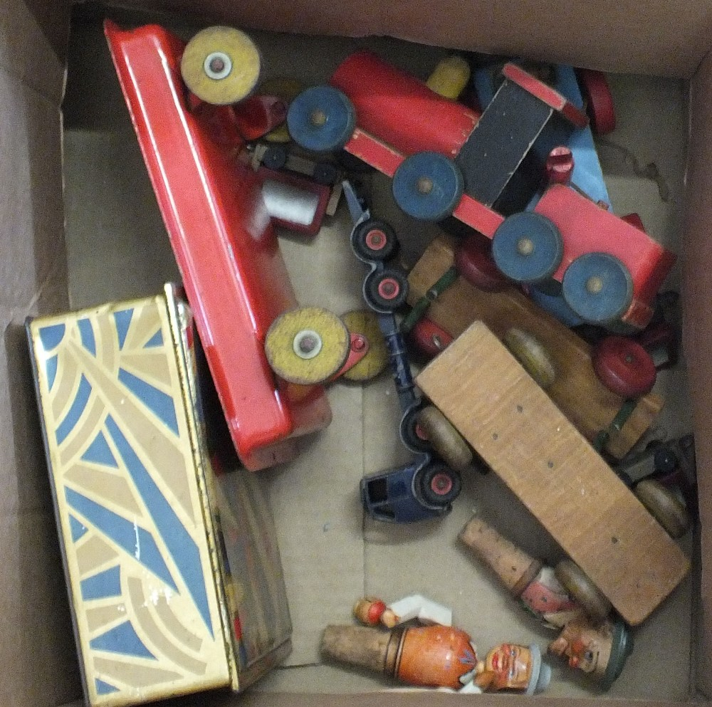 Lot 52 - Various wooden,