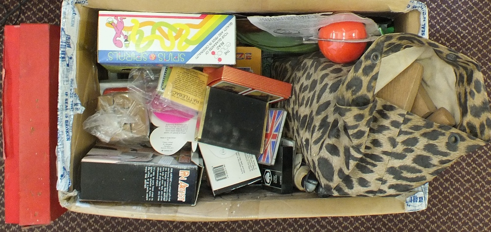 Lot 39 - Toys and games to include Merit Roulette,