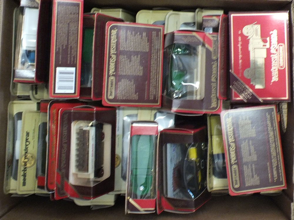 Lot 53 - A quantity of boxed Matchbox Models of Yesteryear
