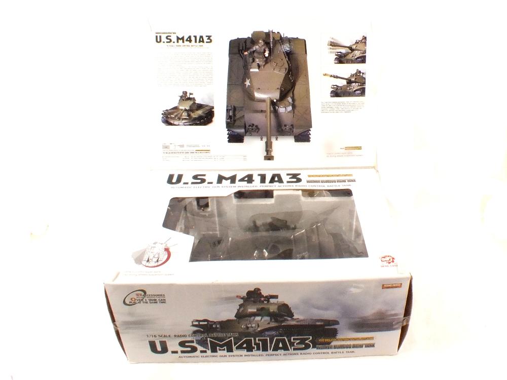 Lot 20 - A boxed S.O.S. radio controlled U.S.