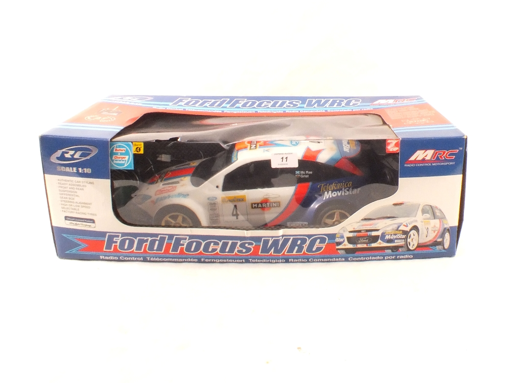 Lot 11 - A boxed MRC radio controlled Ford Focus WRC