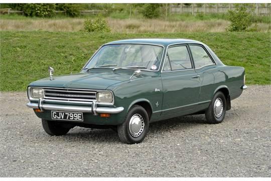 1967 Vauxhall Viva Sl90 Registration Number Gjv 799e Vin Number