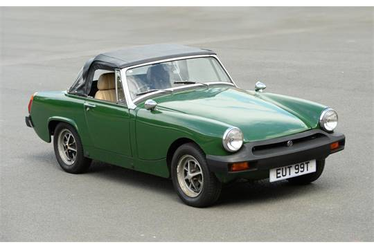 numbers vin Mg midget