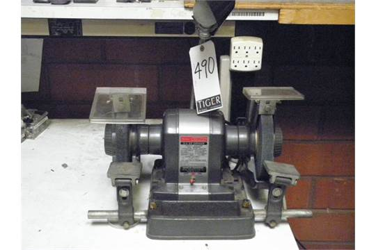 Swell Sears Craftsman Commercial 3 4 Hp Bench Grinder M N 397 19671 Caraccident5 Cool Chair Designs And Ideas Caraccident5Info