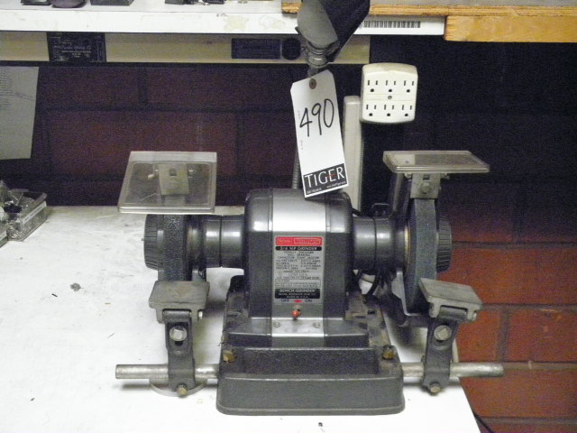 Sears Craftsman Commercial 3 4 Hp Bench Grinder M N 397 19671