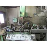 Doall Model TF20 vertical band saw s/n 273-76212 w/ hyd. clamping, 20'' depth, 22'' under housing,