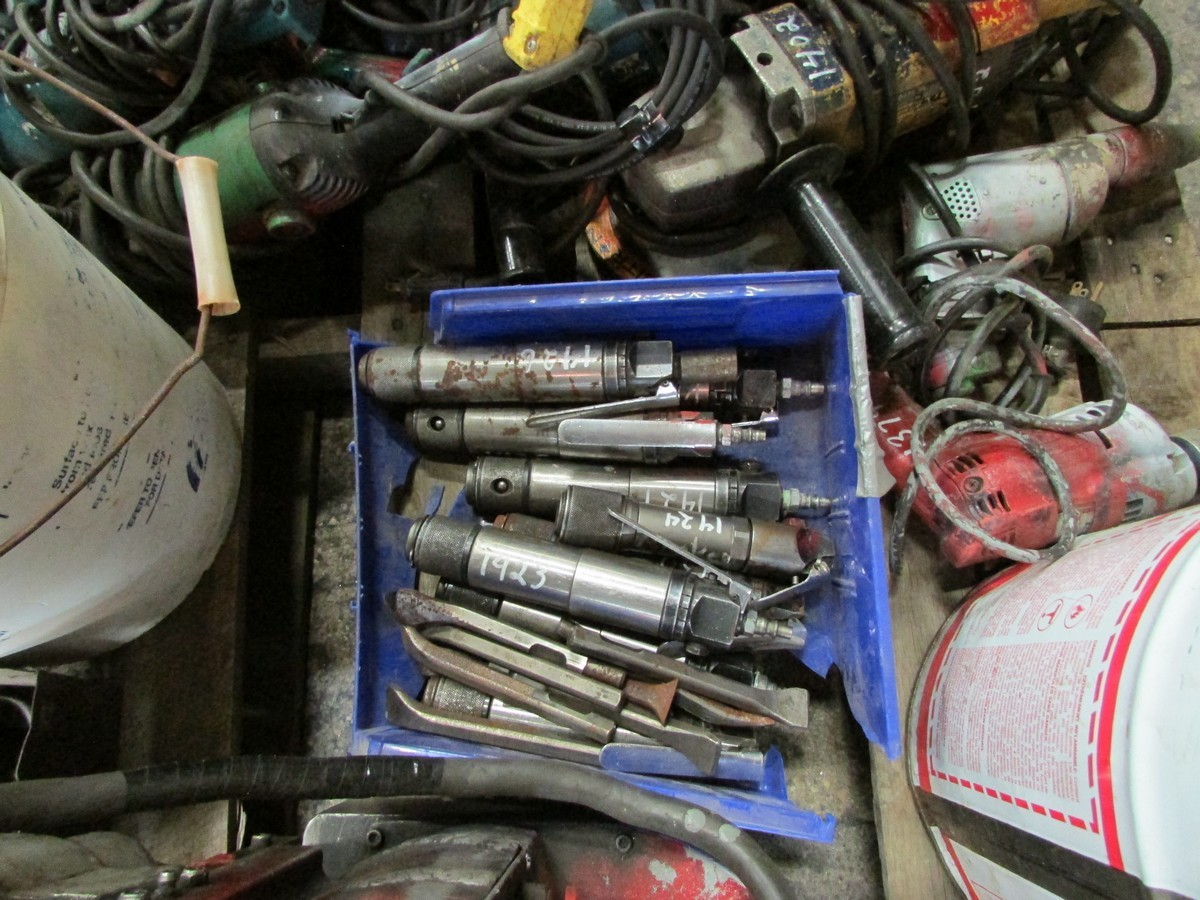 One skid of power tools needing repair including 1 large torque wrench, 1 mag drill, numerous - Image 5 of 5