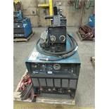 Miller Dimension 452 welder, s/n LC709927 c/w 70 Series 24V wire feed welding gun w/ generous length