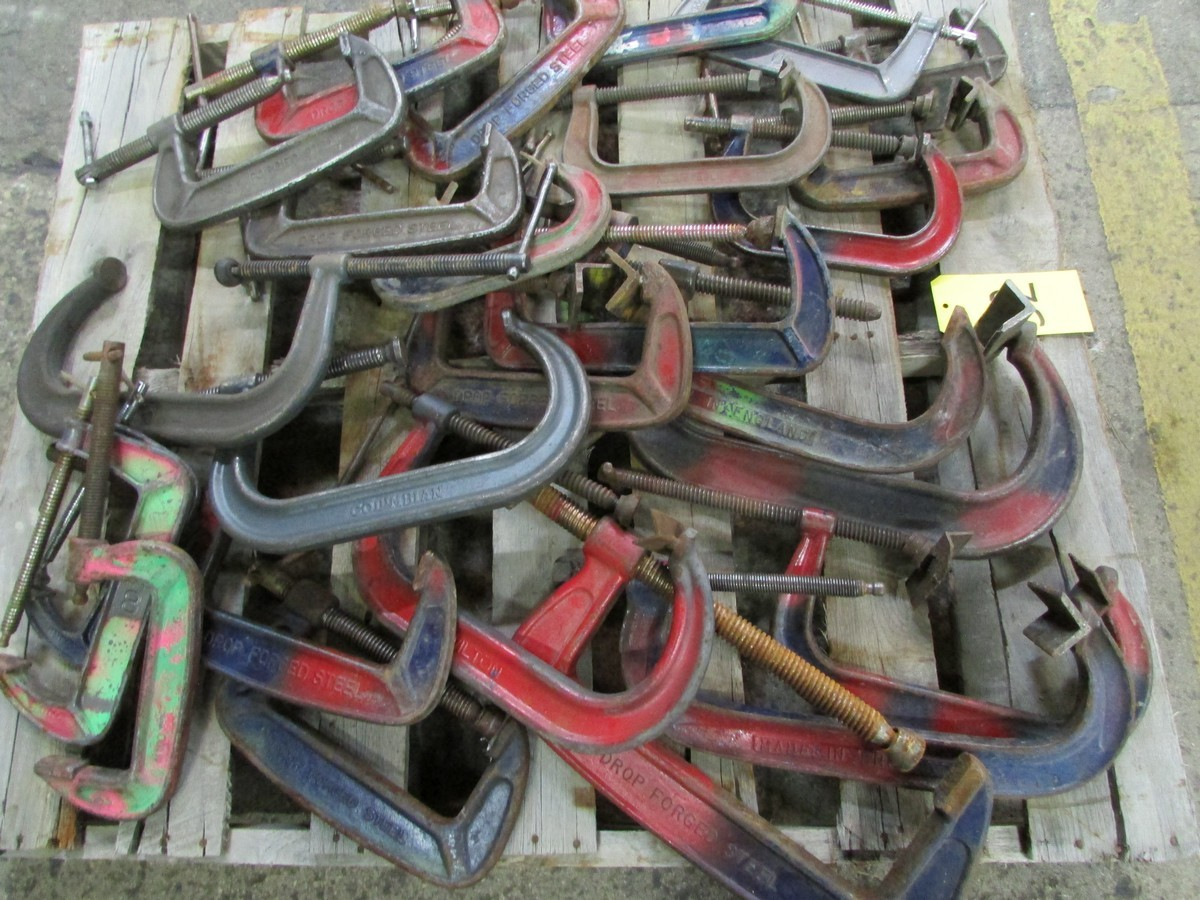 One skid of misc. C-clamps - Image 2 of 2
