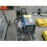 Miller Invision 352 MPA welder, s/n MB52041GA c/w Miller S-74 MP-Plus wire feed, welding gun and