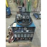 Miller Dimension 452 welder, s/n LH010929C c/w 70 Series 24V wire feed welding gun w/ generous