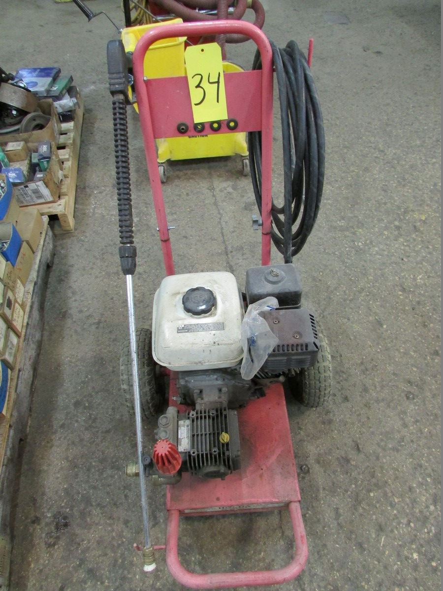 Honda gas powered power washer, 2,200 PSI