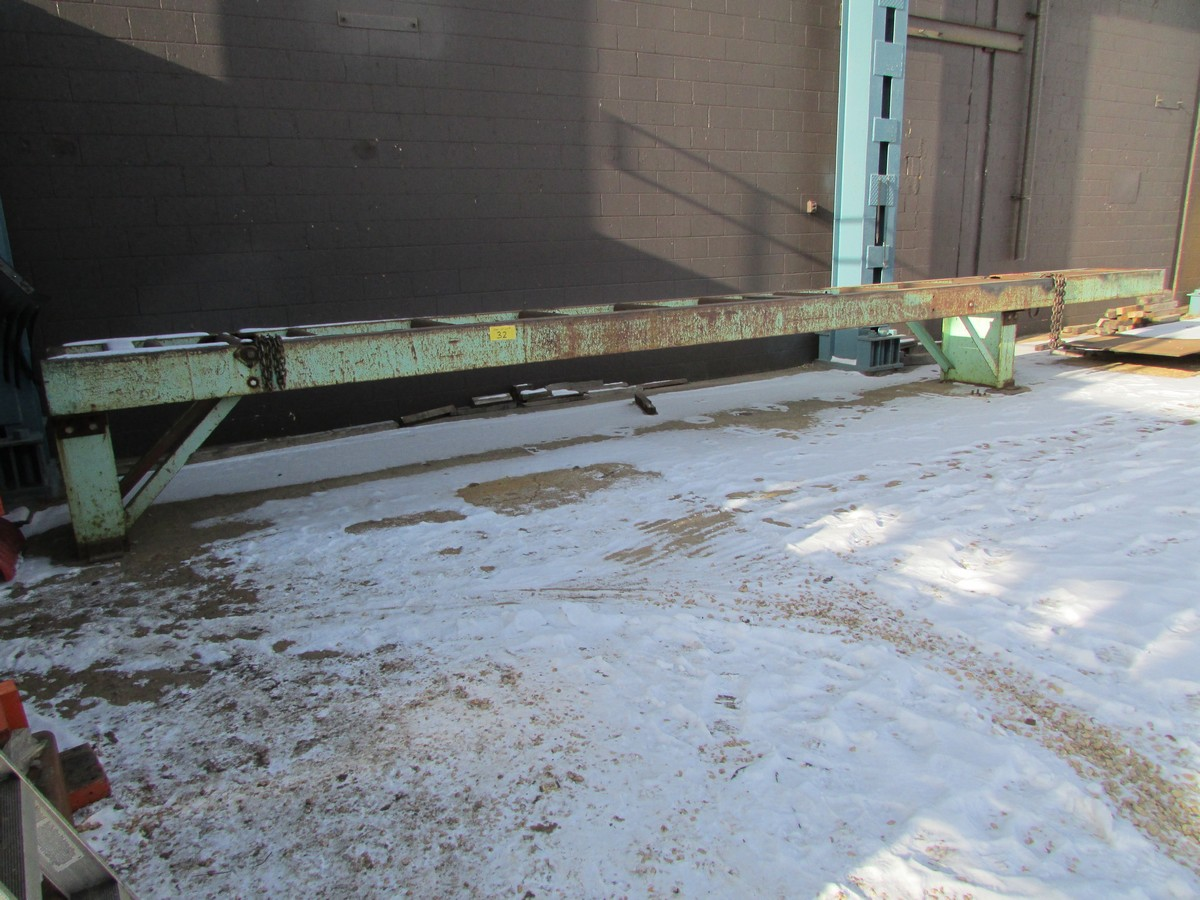 Doall Model TF20 vertical band saw s/n 273-76212 w/ hyd. clamping, 20'' depth, 22'' under housing, - Image 4 of 5