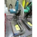 Makita 2414DB, 14' abrasive chop saw, 110V