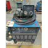 Miller Dimension 452 welder, s/n LG370449C c/w ground cable
