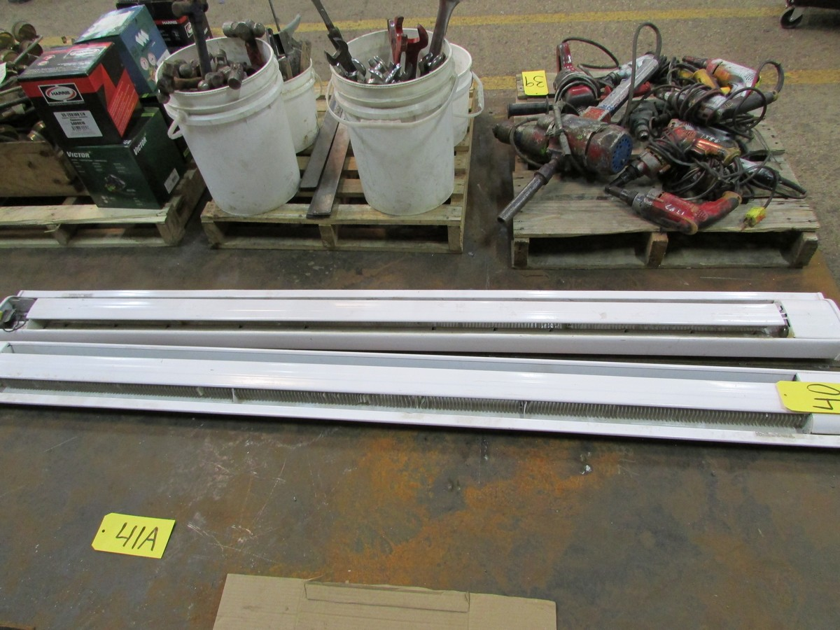 Two 84'' elec. baseboard heaters - Image 2 of 2