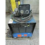 Miller Delta Weld 451 c/w 70 Series, s/n JJ514768 w/ 24V wire feed and ground cable