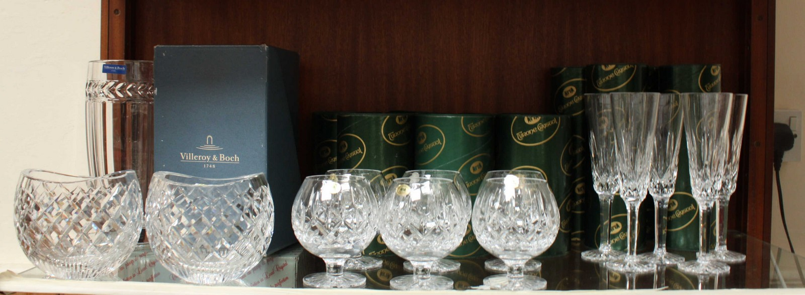 A villeroy boch vase boxed and a pair of waterford crystal oval lot 141 a villeroy boch vase boxed and a pair of waterford reviewsmspy