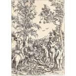 Lucas Cranach der Ältere. Das Parisurteil. Um 1508
