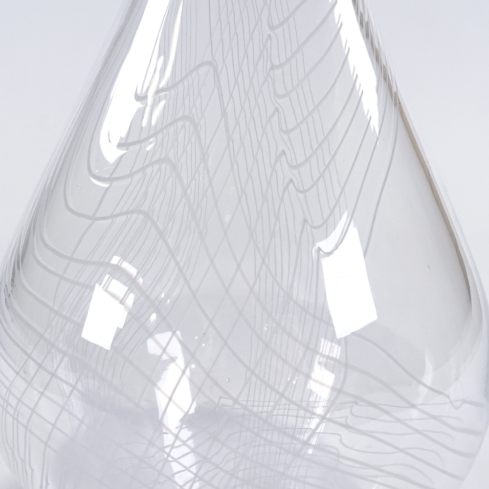 VICKE LINDSTRAND FOR KOSTA - a large Mid-Century Swedish Studio glass Arabesk vase, circa 1955, - Image 2 of 5
